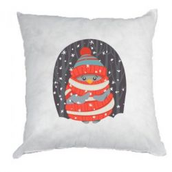 Подушка Christmas Sweet Penguin - FatLine