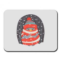 Коврик для мыши Christmas Sweet Penguin - FatLine