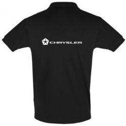Футболка Поло Chrysler Logo - FatLine