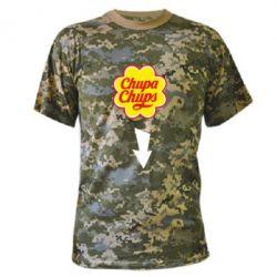 Камуфляжная футболка Chupa Chups - FatLine