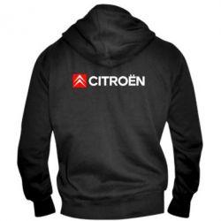 Мужская толстовка на молнии Citroën Logo
