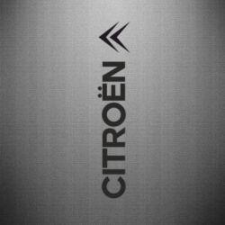Наклейка Citroen Vert - FatLine