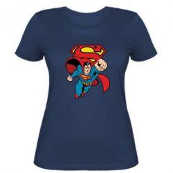 Женская футболка Comics Superman - FatLine