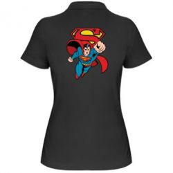 Женская футболка поло Comics Superman - FatLine