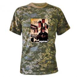 Камуфляжная футболка Compton's NWA - FatLine