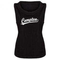 Женская майка Compton Vintage - FatLine