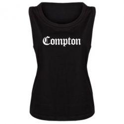Женская майка Compton - FatLine