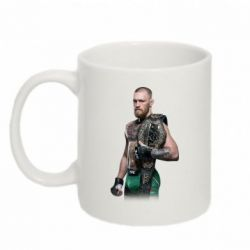 Кружка 320ml Conor McGregor Belt - FatLine