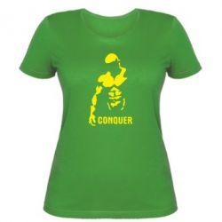 Женская футболка Conquer - FatLine