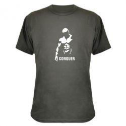 Камуфляжная футболка Conquer - FatLine