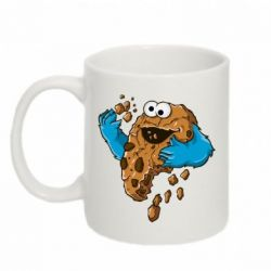 Кружка 320ml Cookie Monster - FatLine
