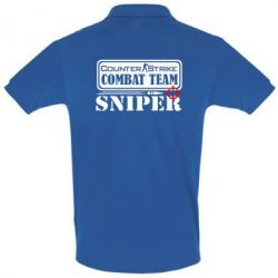 Футболка Поло Counter Strike Combat Team Sniper