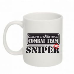 Кружка 320ml Counter Strike Combat Team Sniper - FatLine