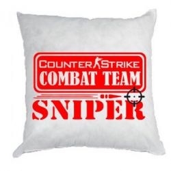Подушка Counter Strike Combat Team Sniper