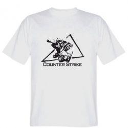 Мужская футболка Counter Strike Gamer - FatLine