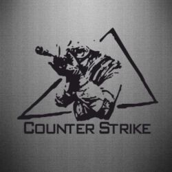 Наклейка Counter Strike Gamer - FatLine