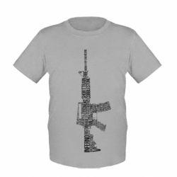 Детская футболка Counter Strike M16