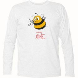 Футболка с длинным рукавом Crazy Bee - FatLine