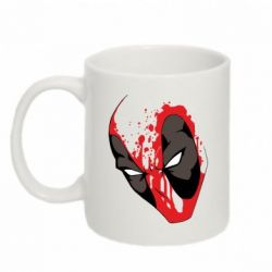 Кружка 320ml Crazy Deadpool - FatLine