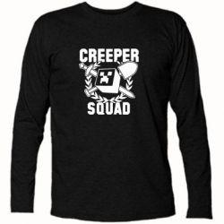 Футболка с длинным рукавом Creeper Squad - FatLine