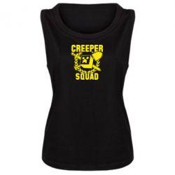 Женская майка Creeper Squad - FatLine
