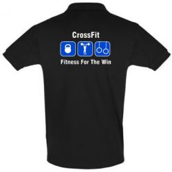 Футболка Поло Crossfit Fitness For The Win - FatLine