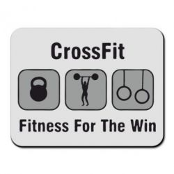 Коврик для мыши Crossfit Fitness For The Win - FatLine