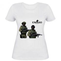 Женская футболка CS GO