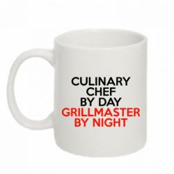 Кружка 320ml Culinary Chef by day - FatLine