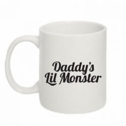 Кружка 320ml Daddy's Lil Monster - FatLine
