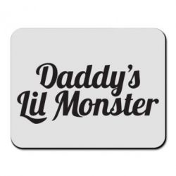 Коврик для мыши Daddy's Lil Monster - FatLine