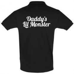 Футболка Поло Daddy's Lil Monster - FatLine