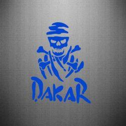 Наклейка DAKAR LOGO - FatLine