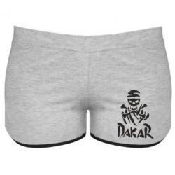 Женские шорты DAKAR LOGO