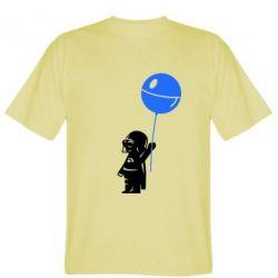 Мужская футболка Дарт Вейдер с шариком - FatLine