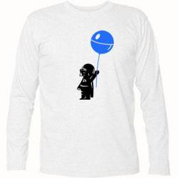 Футболка с длинным рукавом Дарт Вейдер с шариком - FatLine