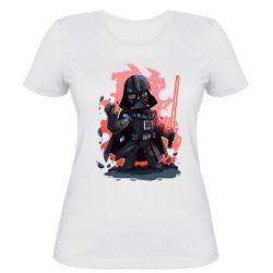 Женская футболка Darth Vader Force - FatLine