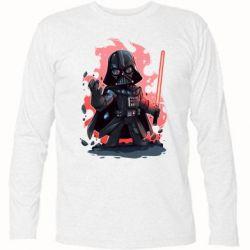 Футболка с длинным рукавом Darth Vader Force - FatLine