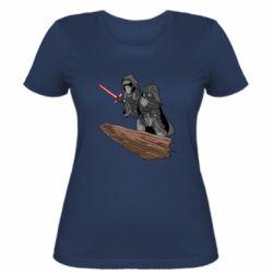 Жіноча футболка Darth Vader & Kylo Ren