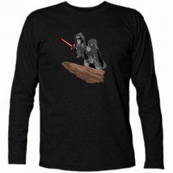 Футболка з довгим рукавом Darth Vader & Kylo Ren
