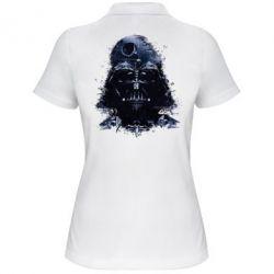 Женская футболка поло Darth Vader Space - FatLine