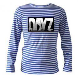 Тельняшка с длинным рукавом Dayz logo - FatLine