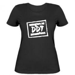 Женская футболка DDT (ДДТ) - FatLine