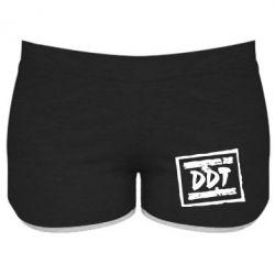 Женские шорты DDT (ДДТ) - FatLine