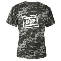 Камуфляжная футболка DDT (ДДТ) - FatLine
