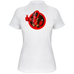 Женская футболка поло Deadpool Fallout Boy - FatLine