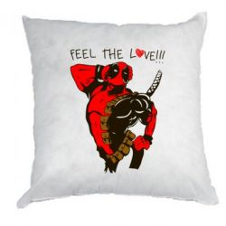 Подушка Deadpool Feel the love!