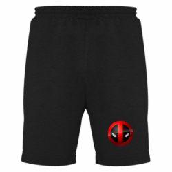 Мужские шорты Deadpool Logo - FatLine