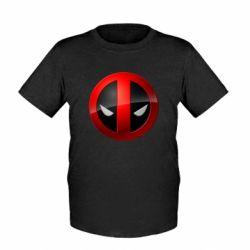Детская футболка Deadpool Logo - FatLine