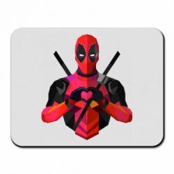 Коврик для мыши Deadpool Love